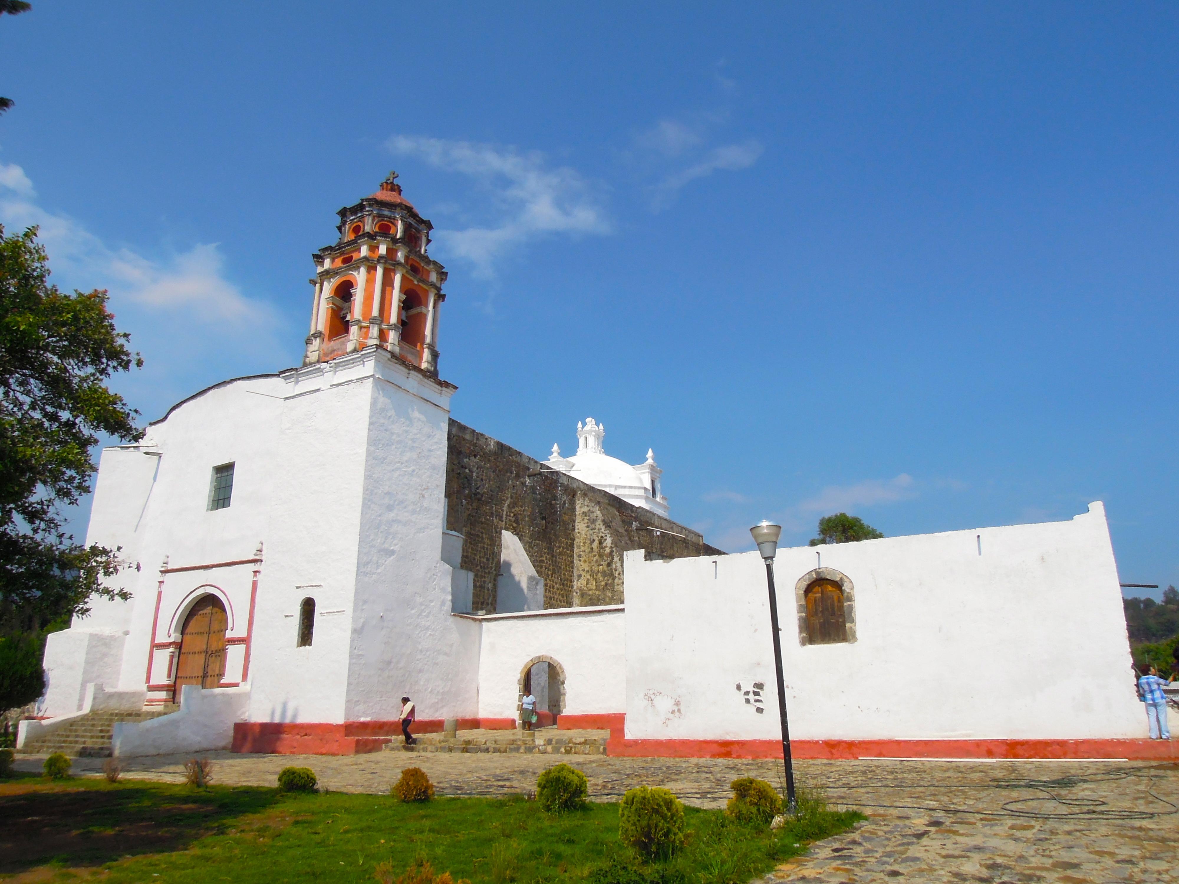 Fachada del Monasterio de Santo Domingo en Hueyapan