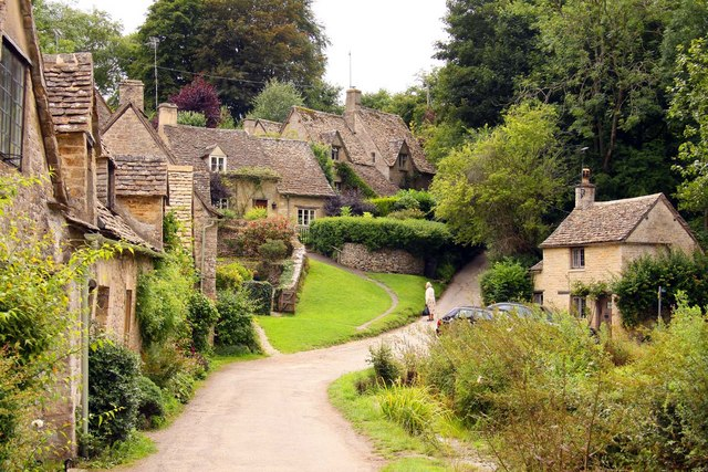Cottages by Arlington Row in Bibury