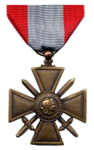 French Foreign Legion 2e REI Croix_de_guerre_des_TOE
