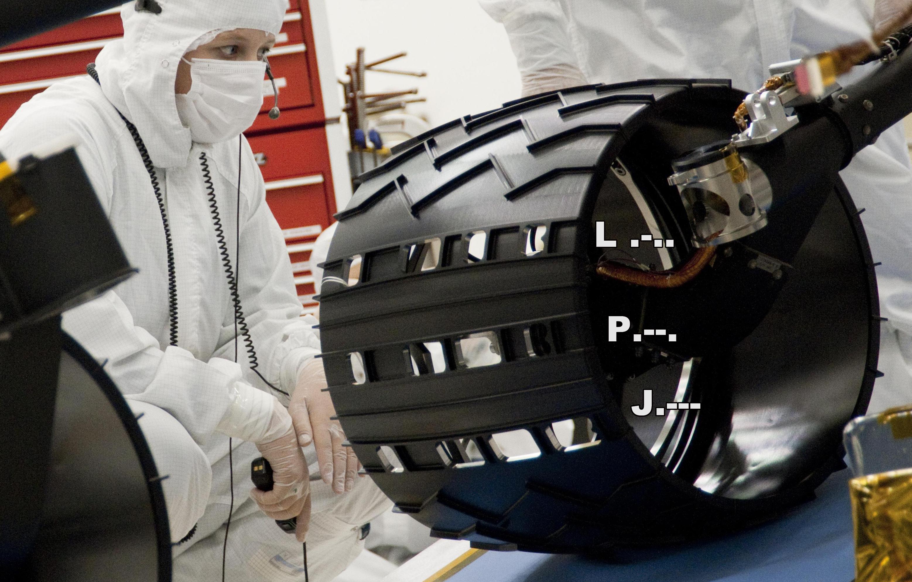mars rover wheels design - photo #38