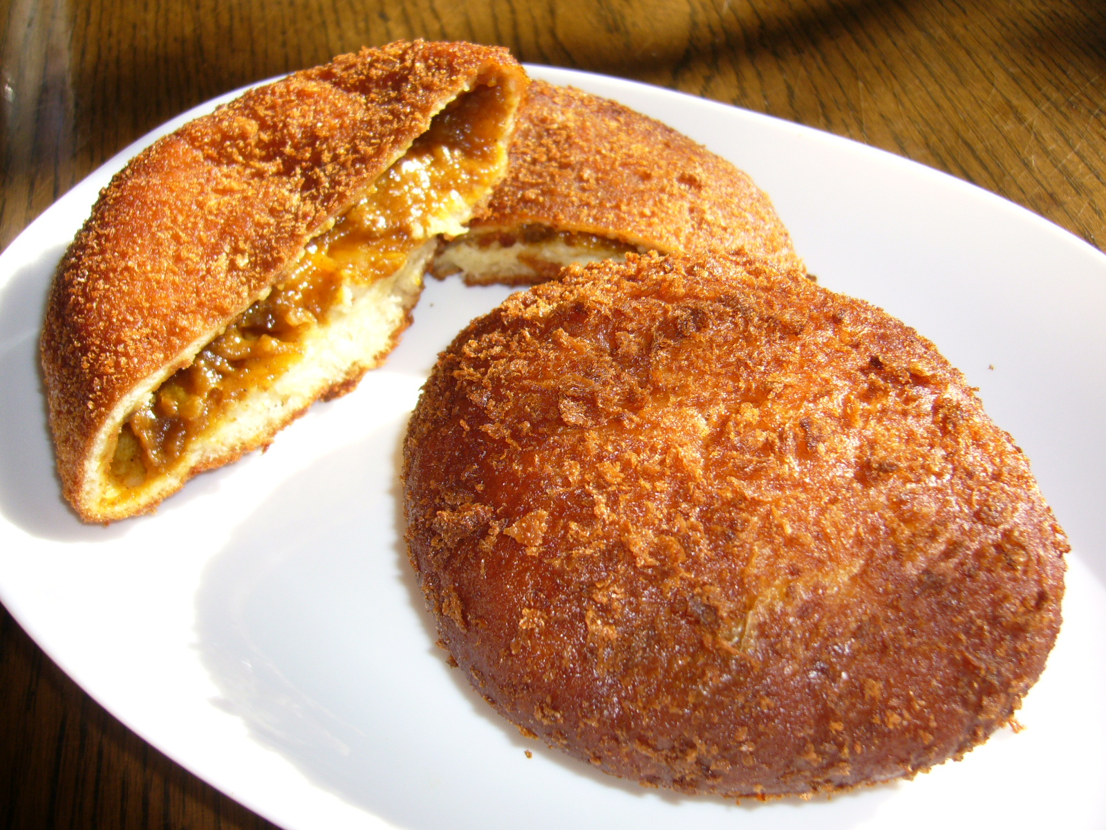 Description Curry-bun,curry-pan,katori-city,japan.JPG