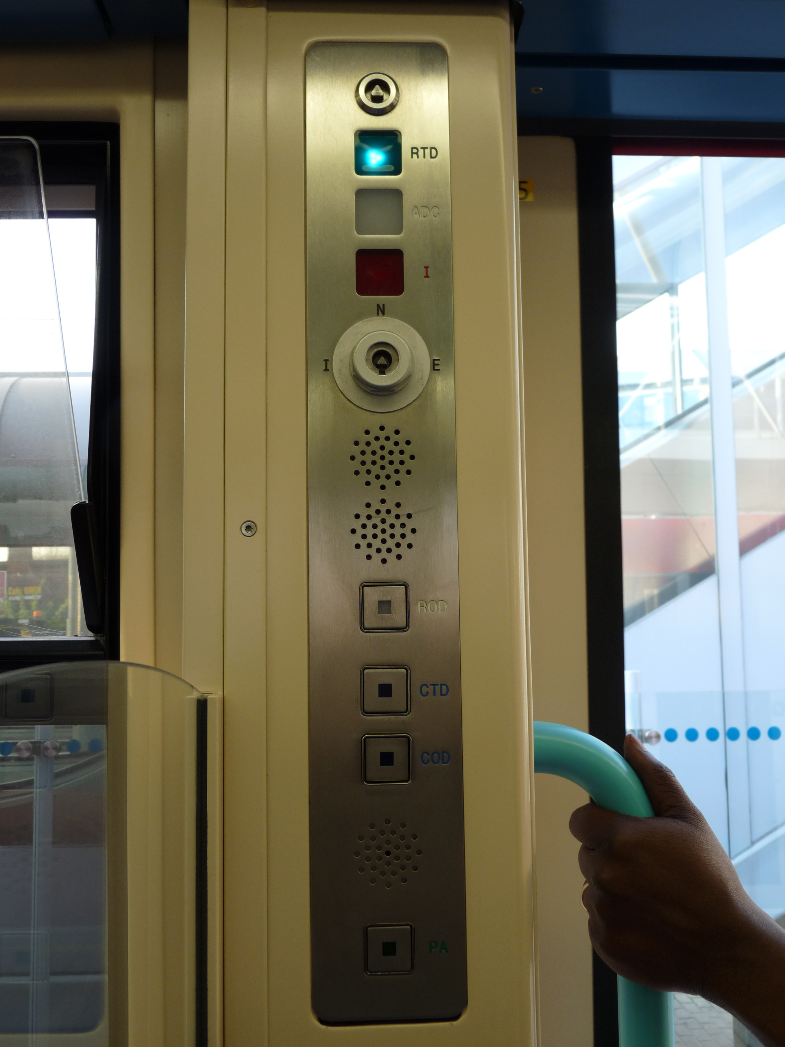 FileDLR door controls 02.jpg & File:DLR door controls 02.jpg - Wikimedia Commons