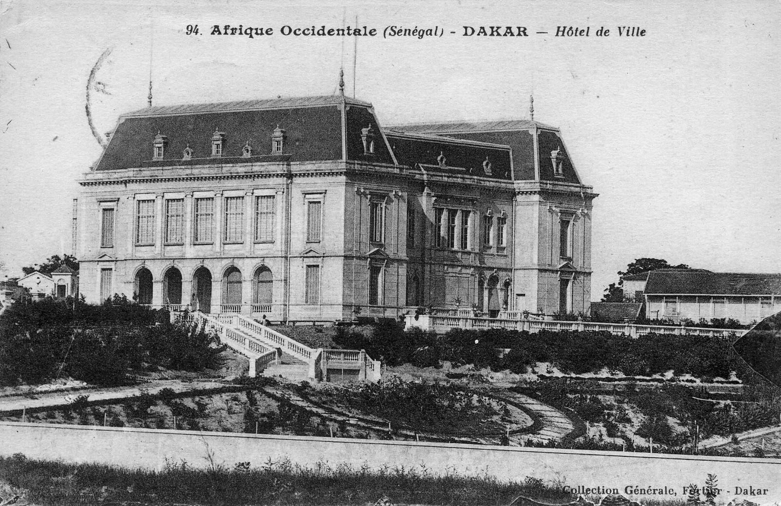 File dakar h tel de ville jpg wikimedia commons - Maison de la bibliotheque ...