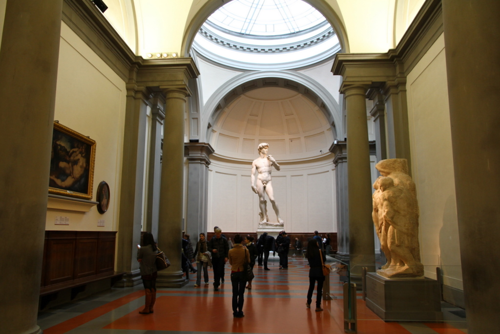 David Florence accademia gallery