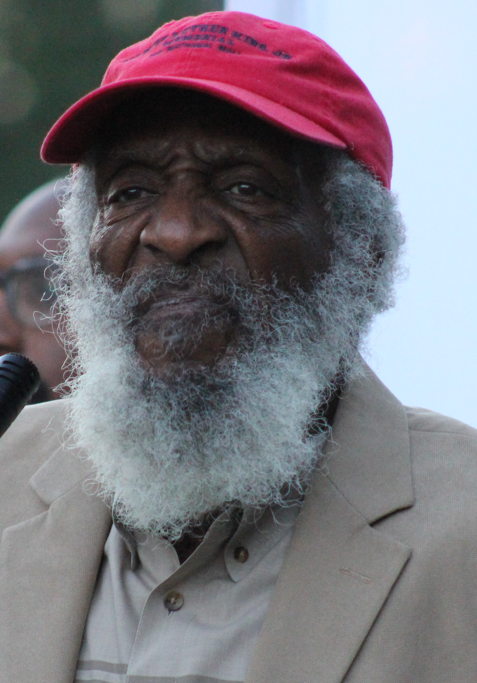 Dick Gregory und Ron Brown