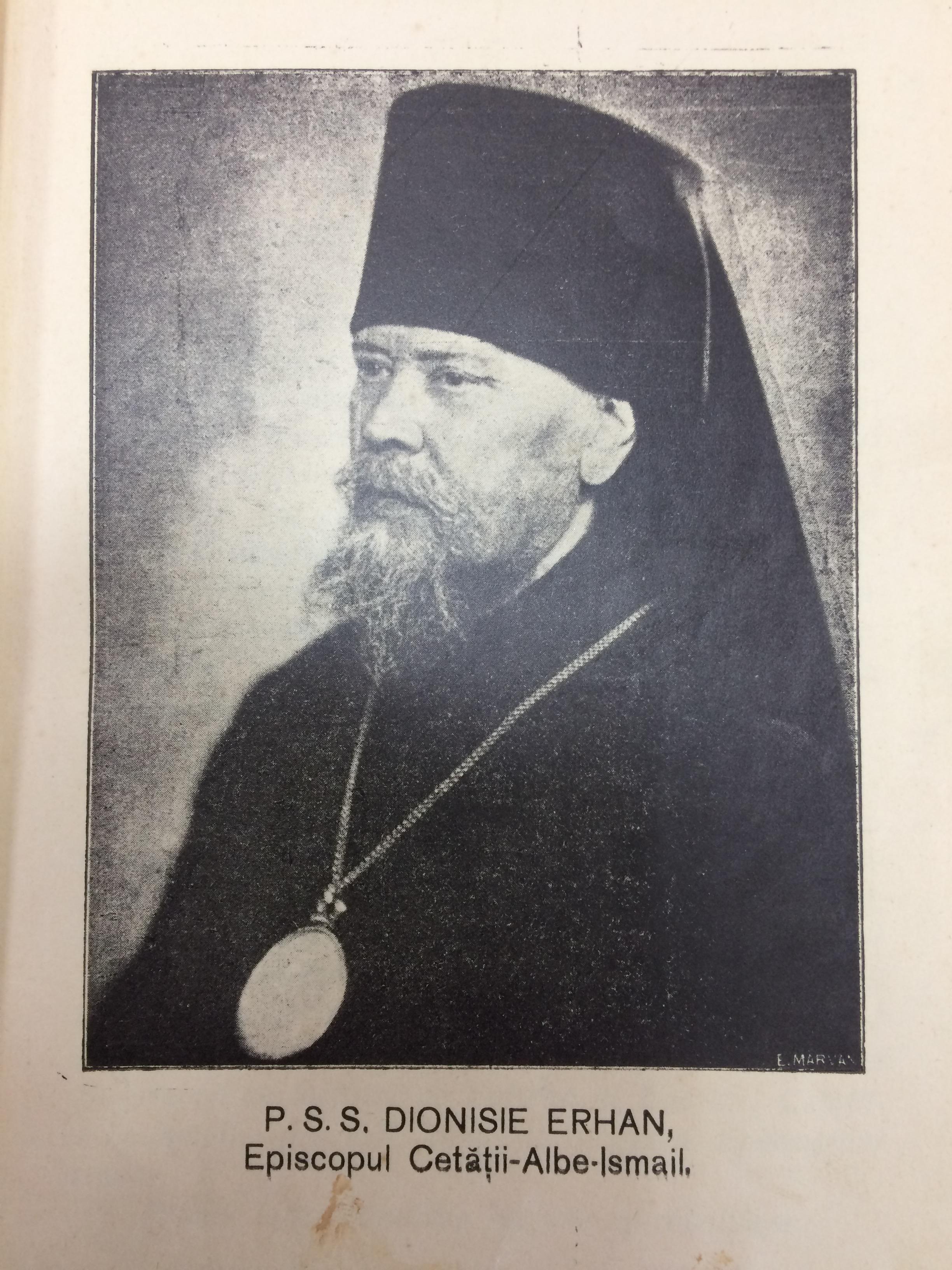 """Imagini pentru episcopu i Dionisie Erhan al Cetății-Albe-Ismail photos"""""""