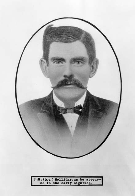 a biography of doc holliday a gambler
