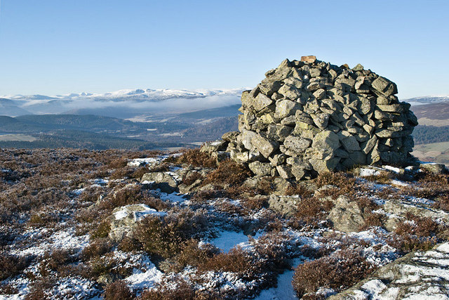 Duchess of Kent's Cairn on Sgor an h-Iolaire - geograph.org.uk - 1099870
