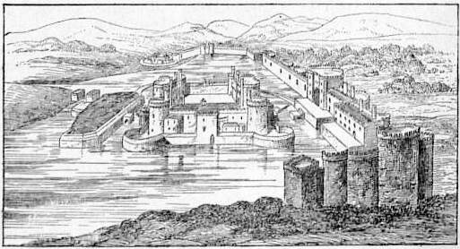 EB1911 - Castle Fig. 12.—Caerphilly Castle. View.jpg