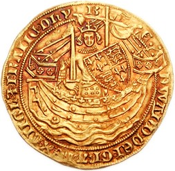 King James I coin