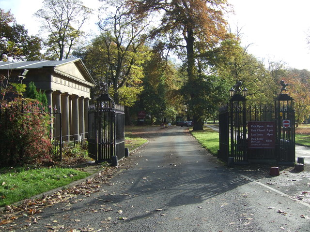 Entrance to Tatton Park, Cheshire-geograph-5184336