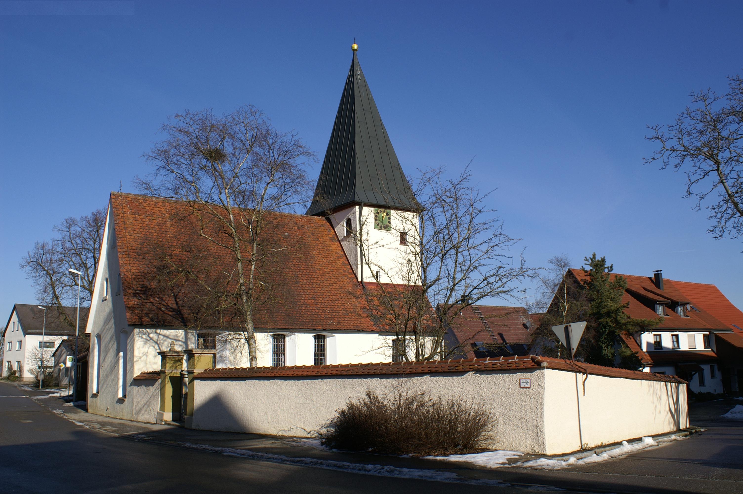 Evangelische Kirche in Reutti