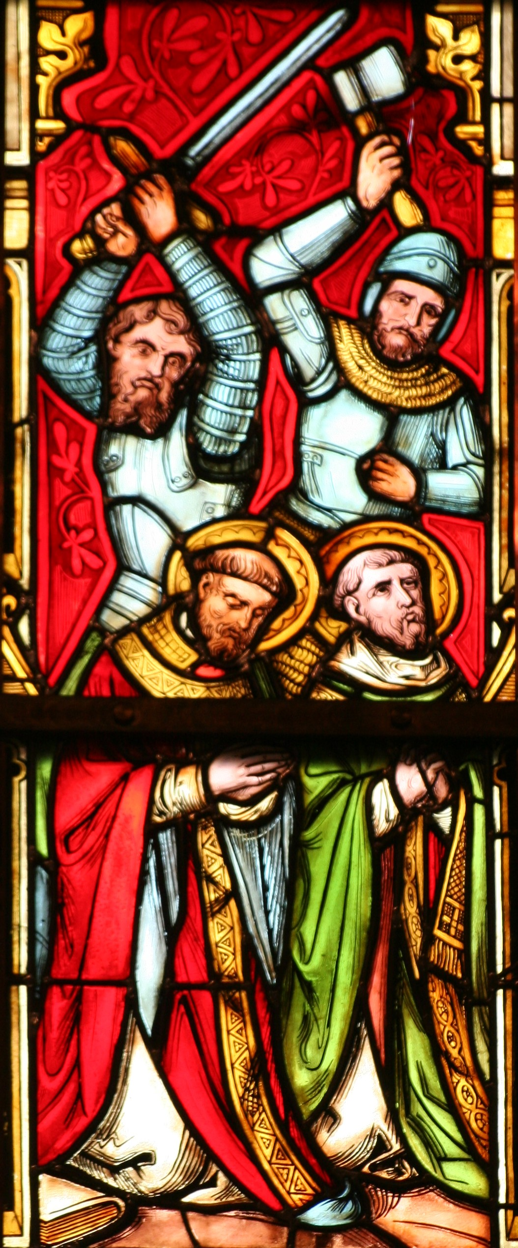Martydom of Saints Ewald the Fair and Ewald the Black