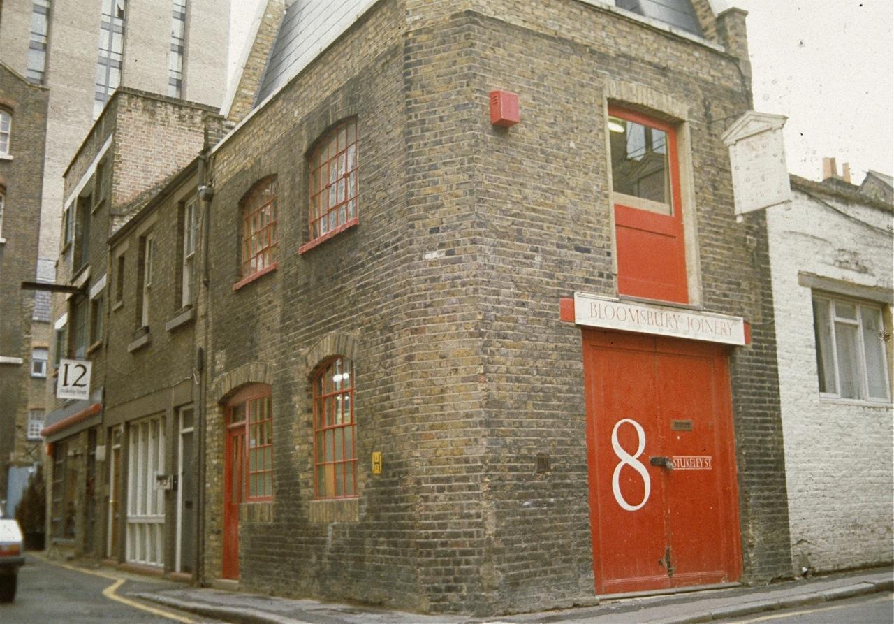 File:Exterior Of Bloomsbury Joinery Workshop.
