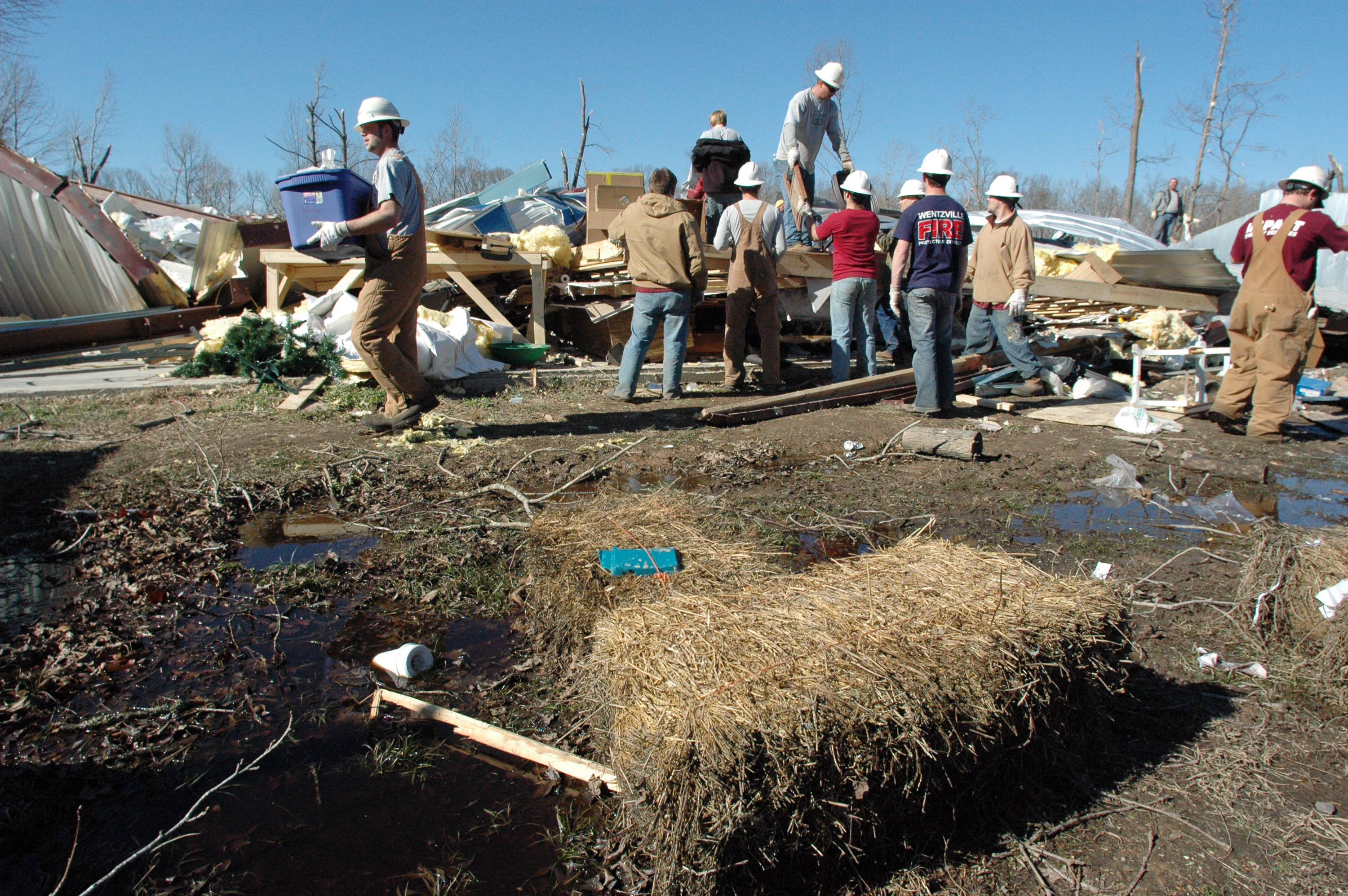 Disaster volunteer programs
