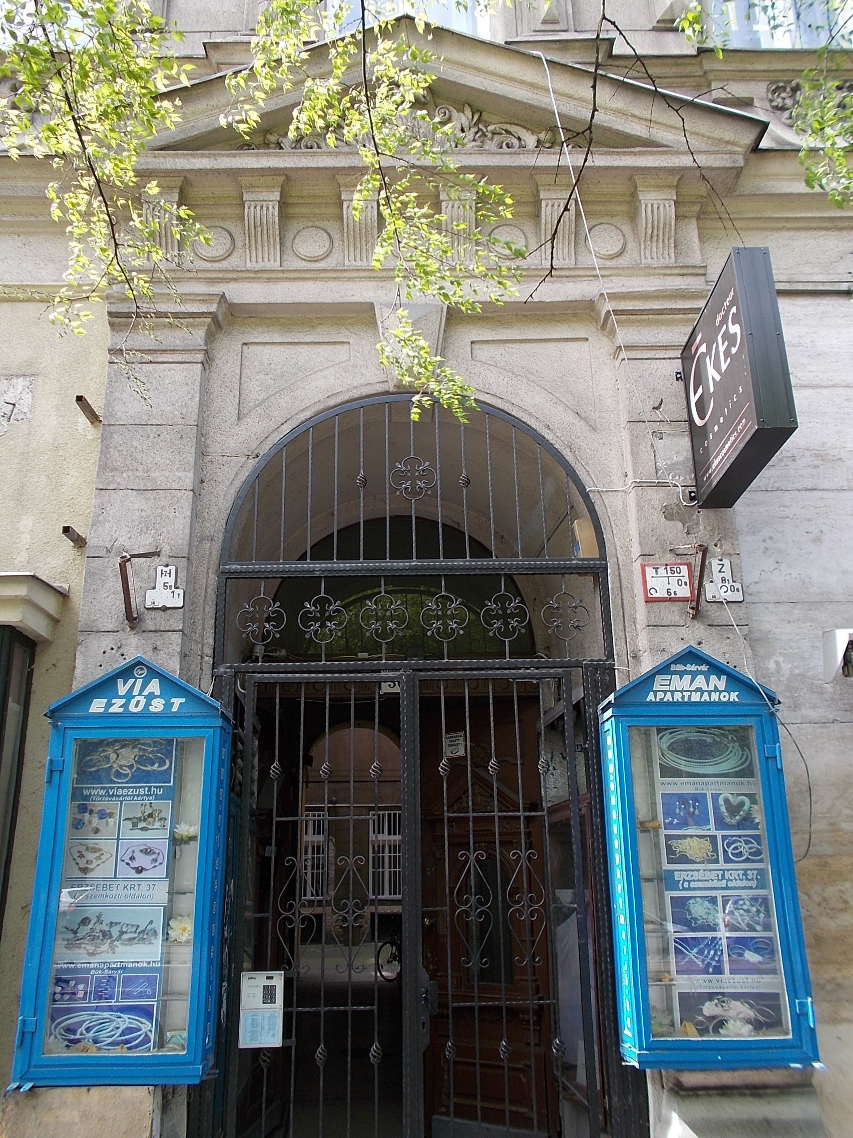 File:Feledi House By Antal Schomann (1889). Portal.   36 Erzsébet