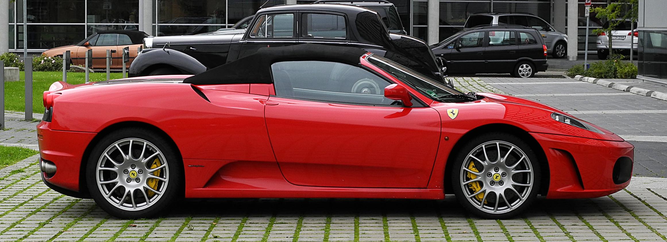 File:Ferrari F430 Spider – Seitenansicht, 30. August 2011 ...