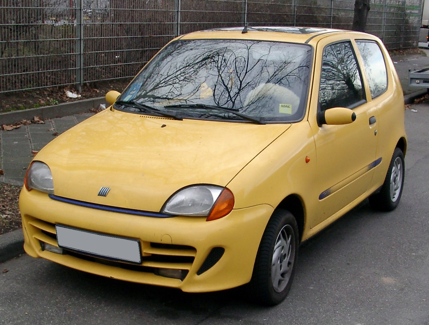 File Fiat Seicento Front 20080127 Jpg Wikimedia Commons