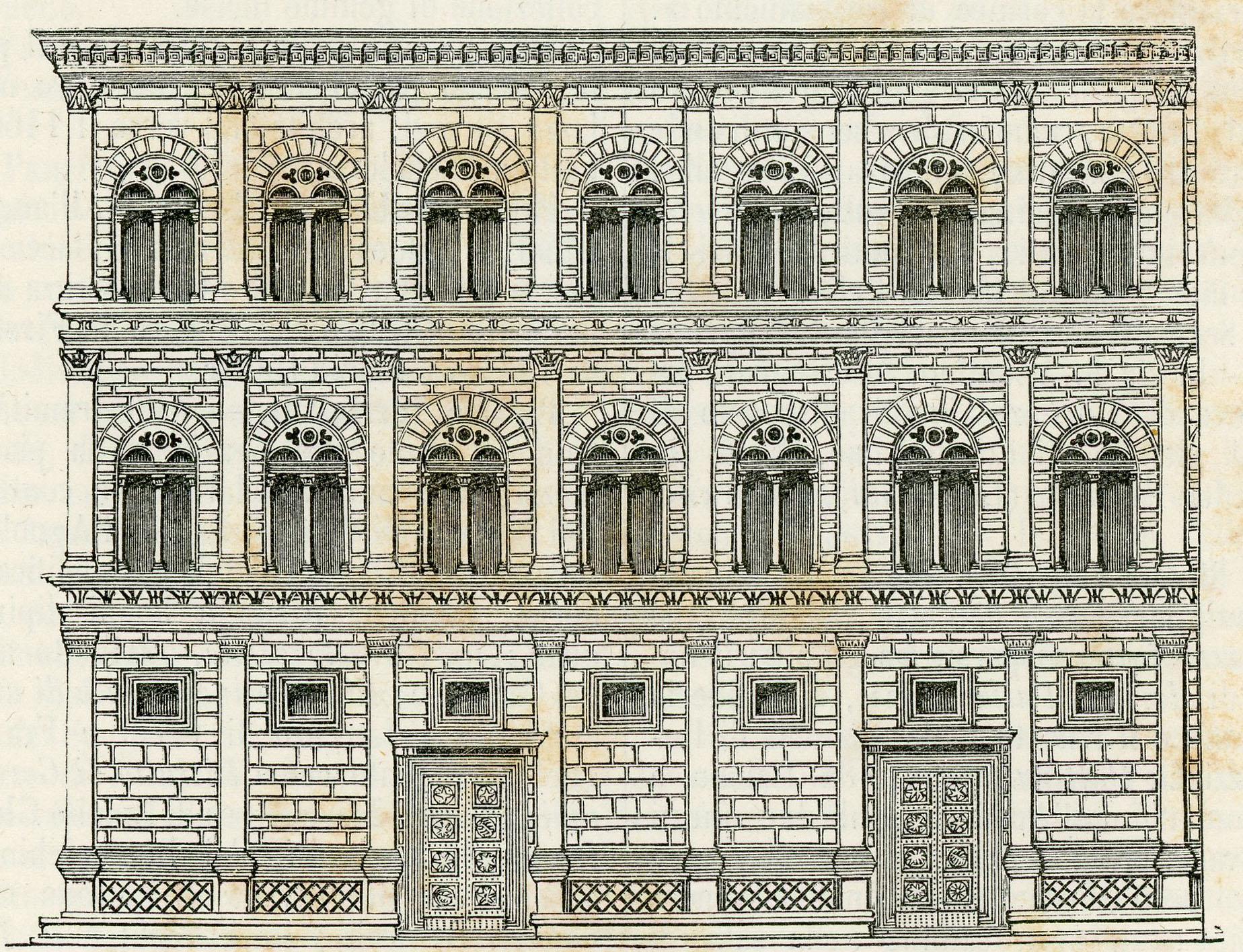 File firenze palazzo wikimedia commons - I giardini di palazzo rucellai ...