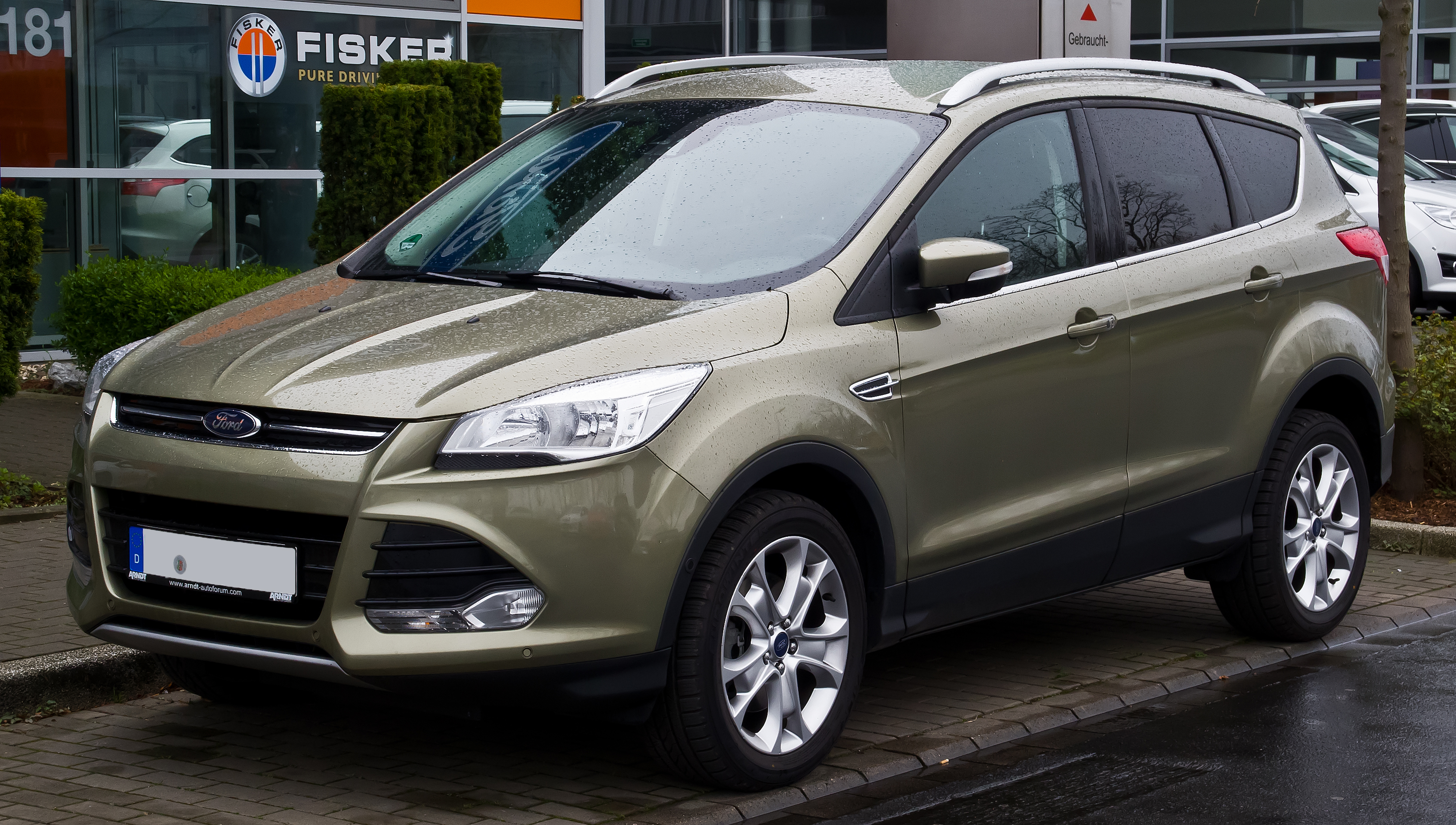 datei ford kuga titanium ii frontansicht 22 m rz 2014 d wikipedia. Black Bedroom Furniture Sets. Home Design Ideas