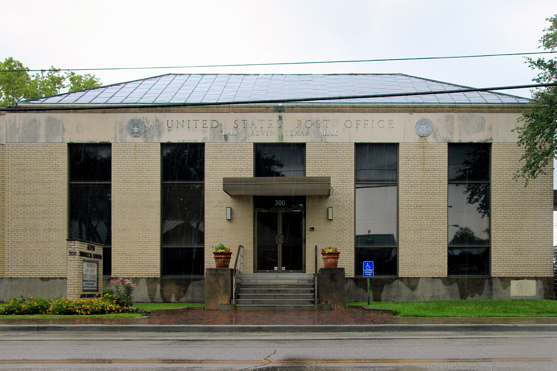 Alvin (TX) United States  city images : Former alvin tx post office Wikimedia Commons