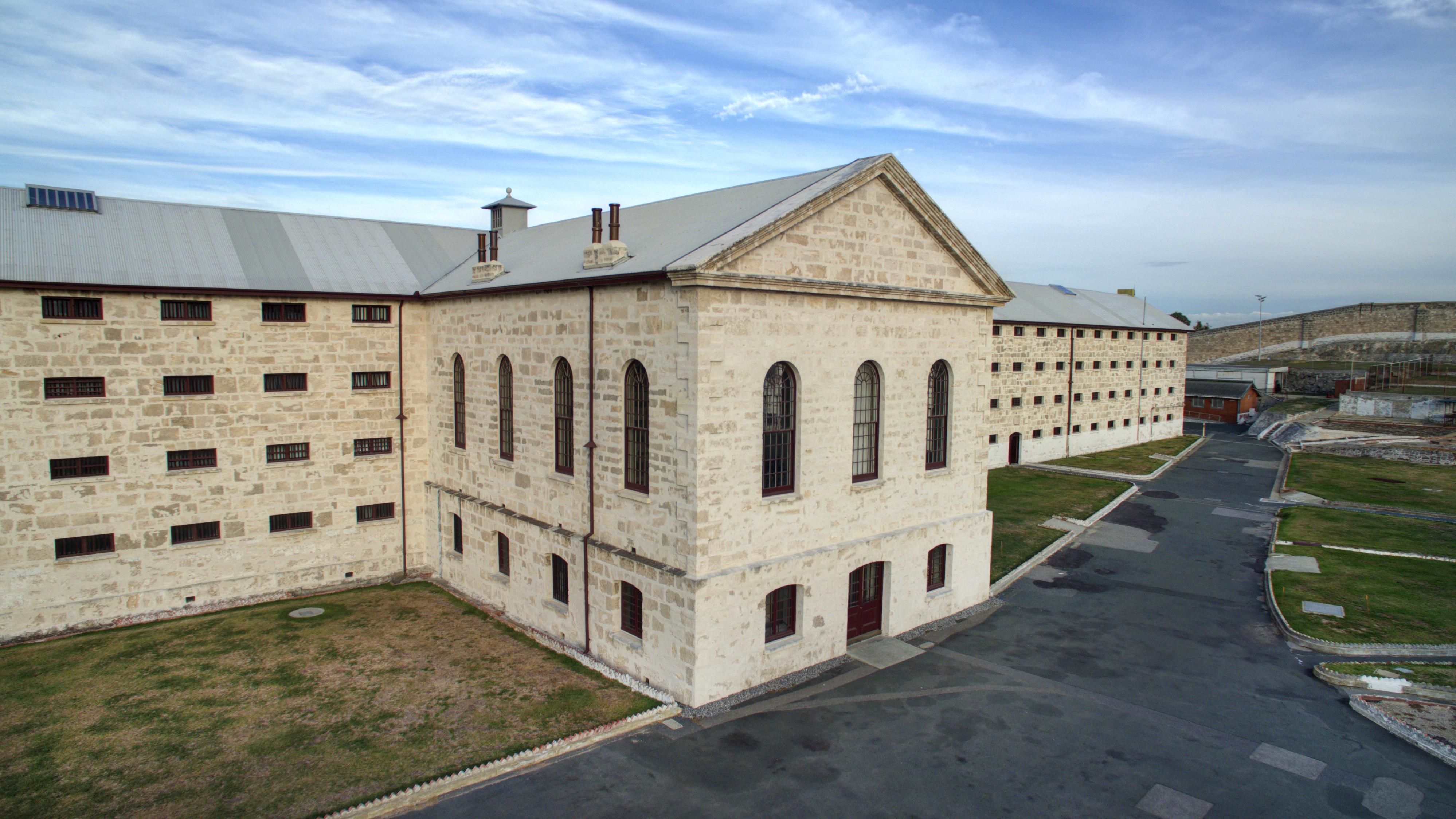 Fremantle Prison; haunted places in Australia