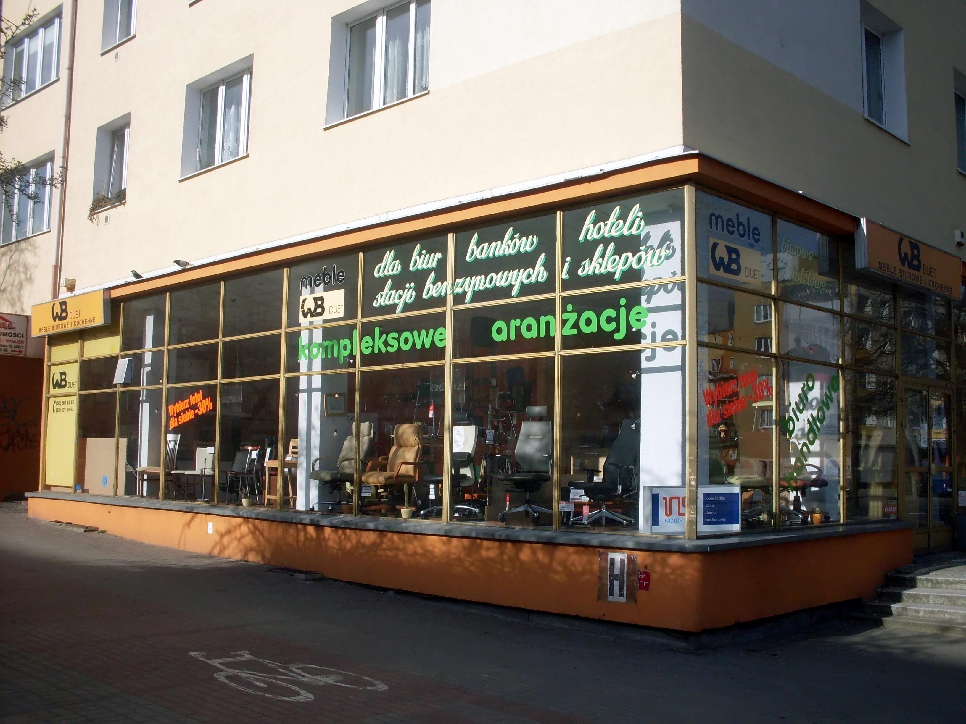 File:Furniture Shop At Ulica Władysława IV, Gdynia 1