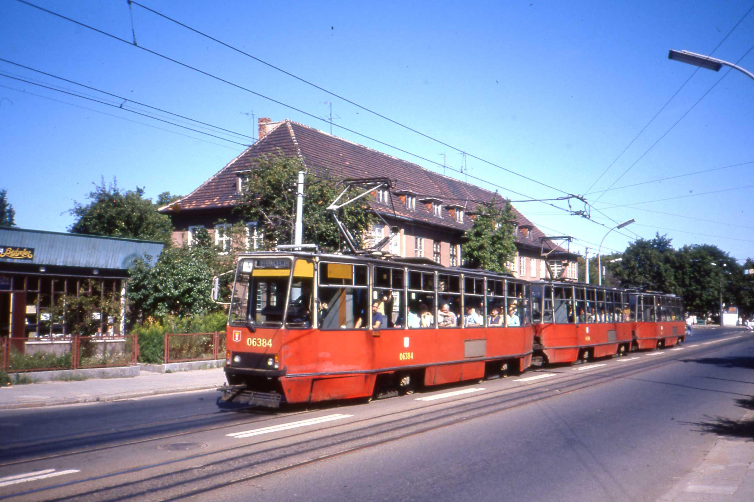 File Gdańsk Tramwaj Aug 1990 Konstal 105na Tram 06384