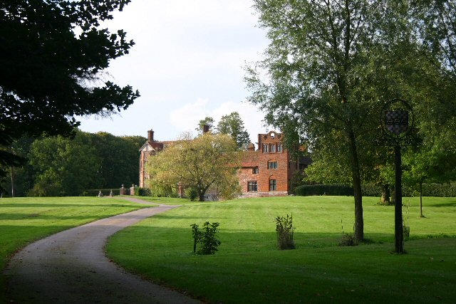 Gedding Hall, Suffolk. Home of Bill Wyman, Rolling Stone.