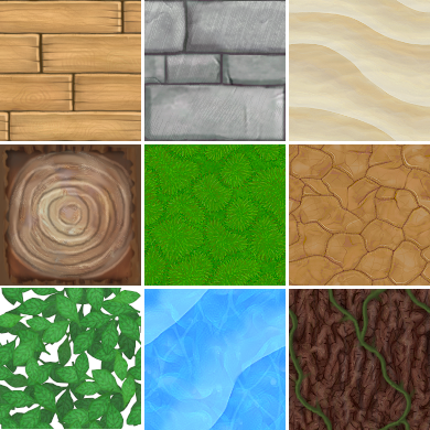 Fichier Hand Painted Tiling Textures