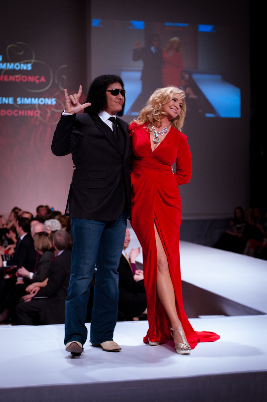 Fashion Show Red Dress