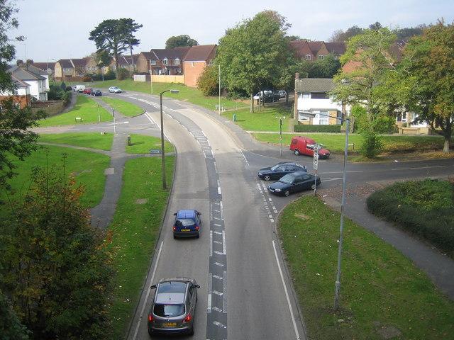 Hemel Hempstead, B487 Queensway - geograph.org.uk - 586125