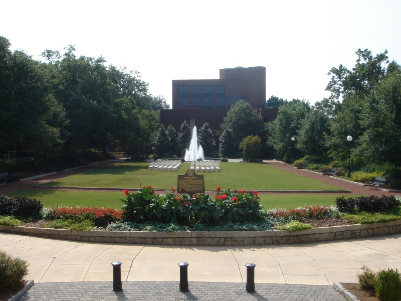 Herty Field, in the center of North Campus, was UGA's first home football field