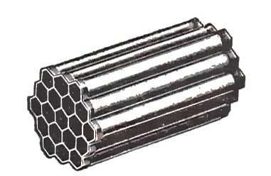 File:Honeycomb radiator tubes.jpg