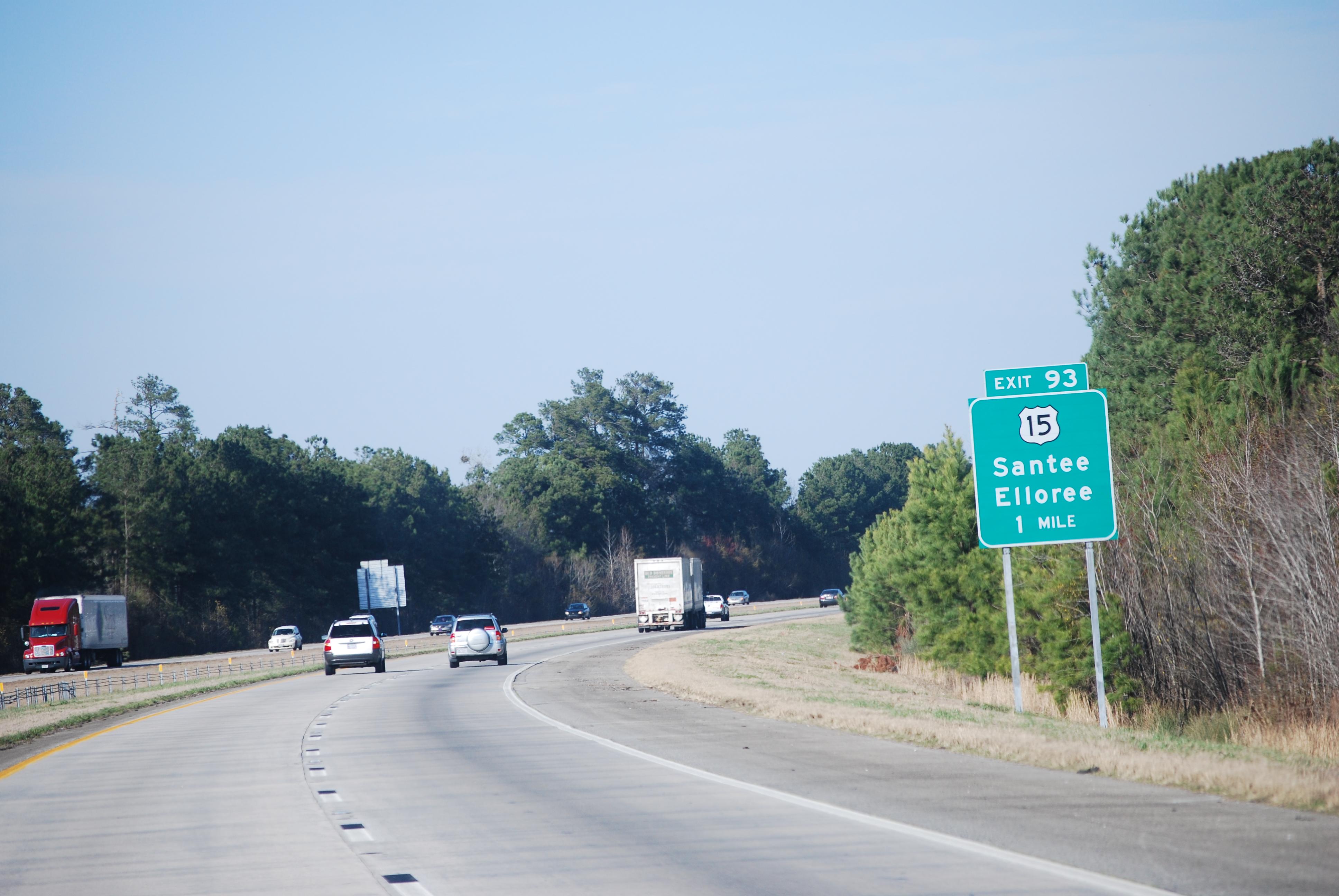 ไฟล์:I-95 US 1...I 95 Exit 193 South Carolina
