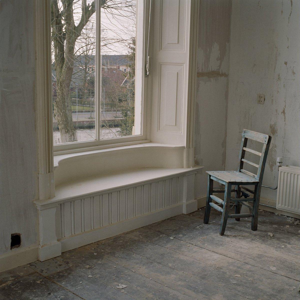 File interieur kamer op bovenverdieping met vensterbank for Kamer interieur