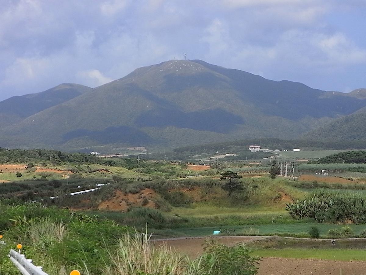 於茂登岳(沖縄県)