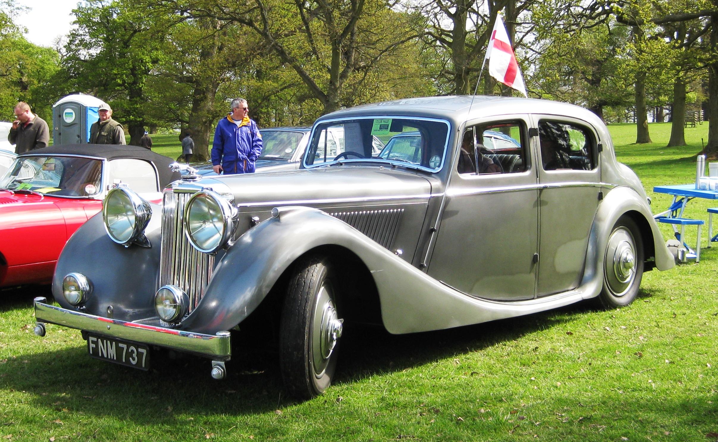 File Jaguar Mk Iv 2 189 Litre 2663cc Reg Jun 1947 Jpg