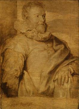 Jan van Ravensteyn door Anthony van Dyck