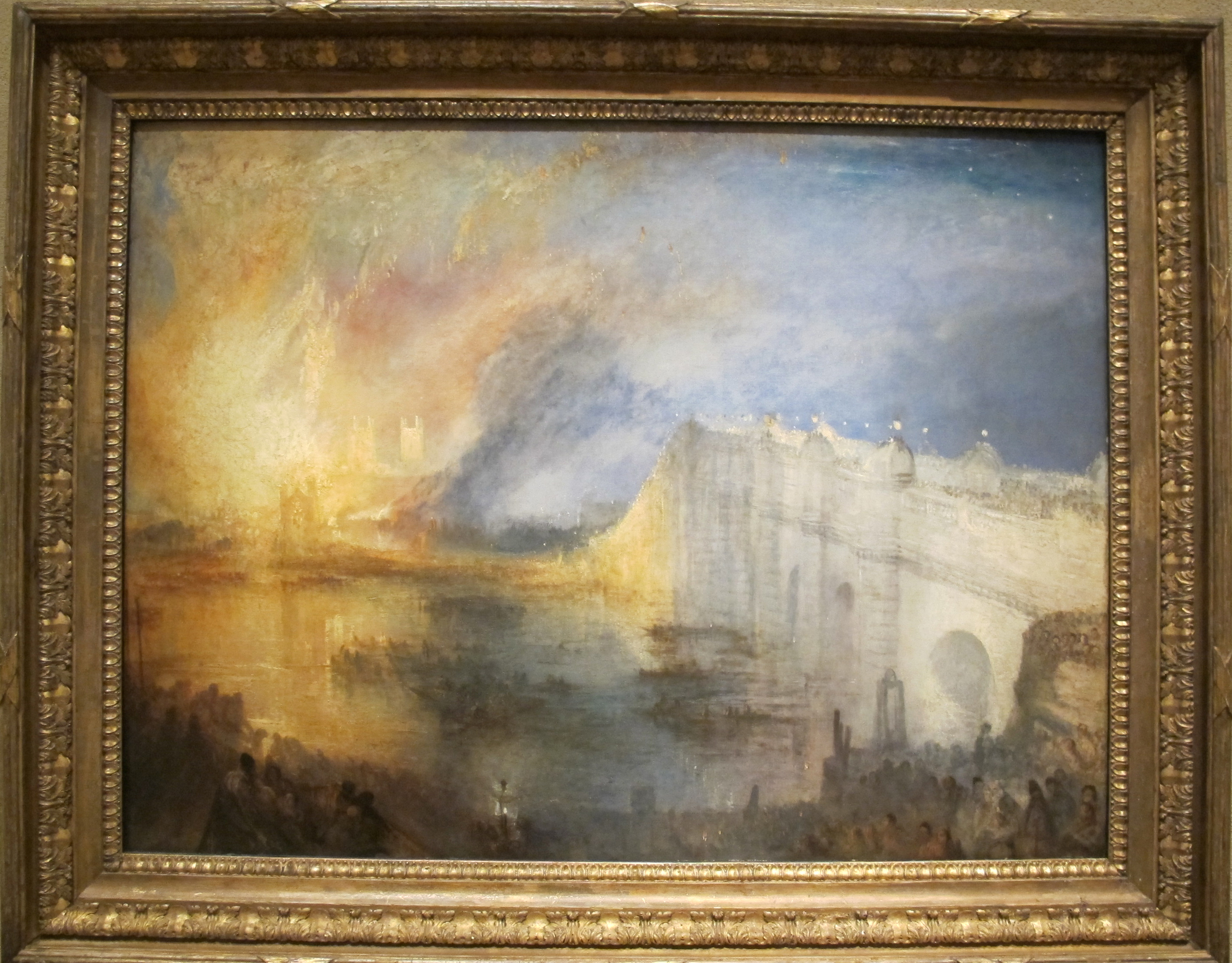 File joseph mallord william turner incendio della casa for Il parlamento italiano wikipedia
