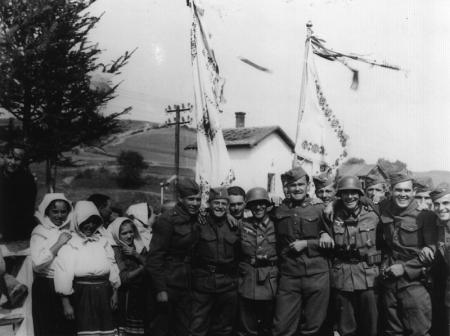 Braterstwo broni. Oddziały słowackie i niemieckie w Komańczy, 1939 r.