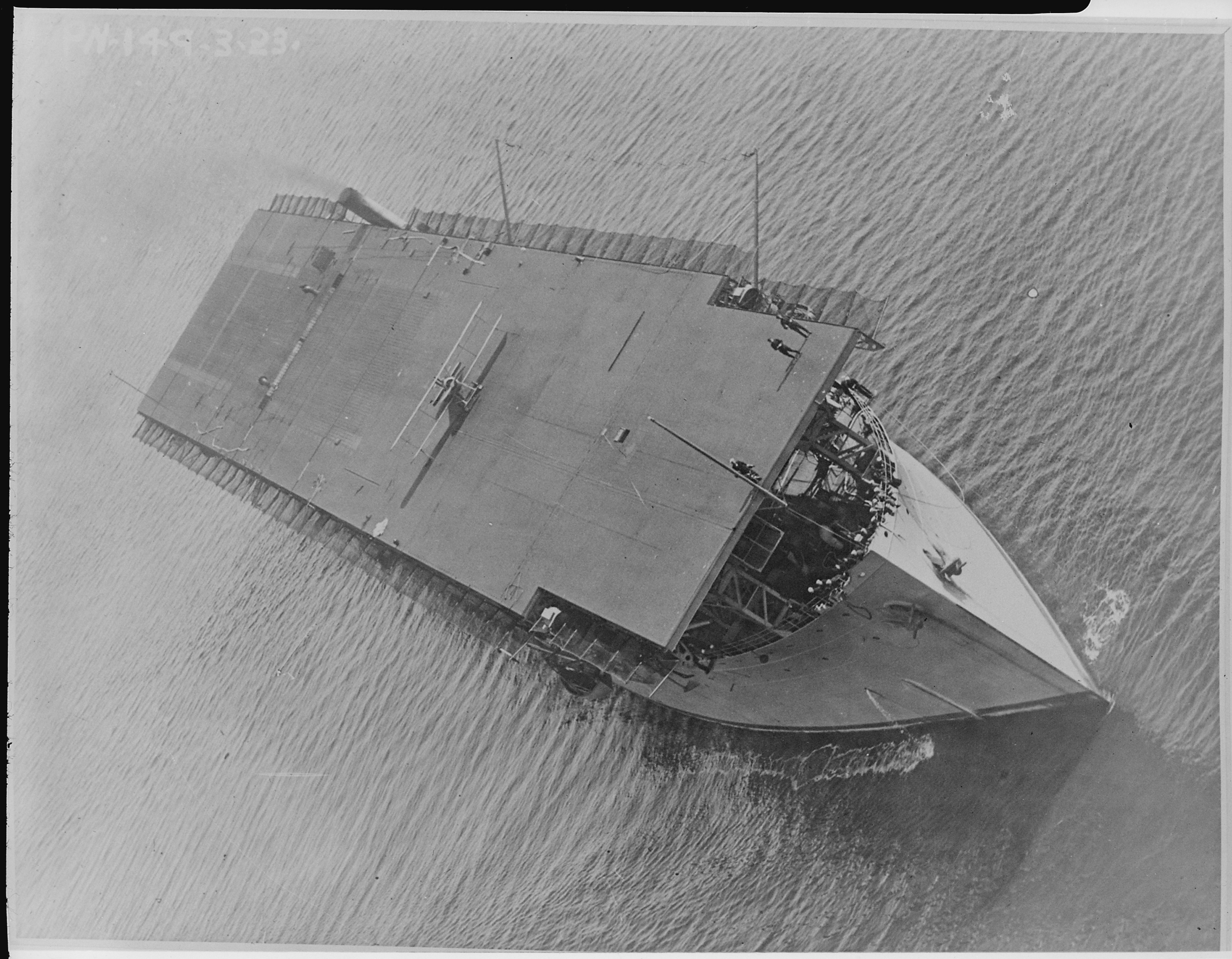 file langley  cv1   formerly the jupiter  aerial  bow on