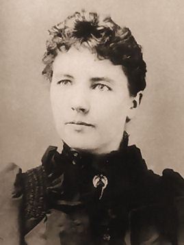 Laura Ingalls Wilder head and shoulders