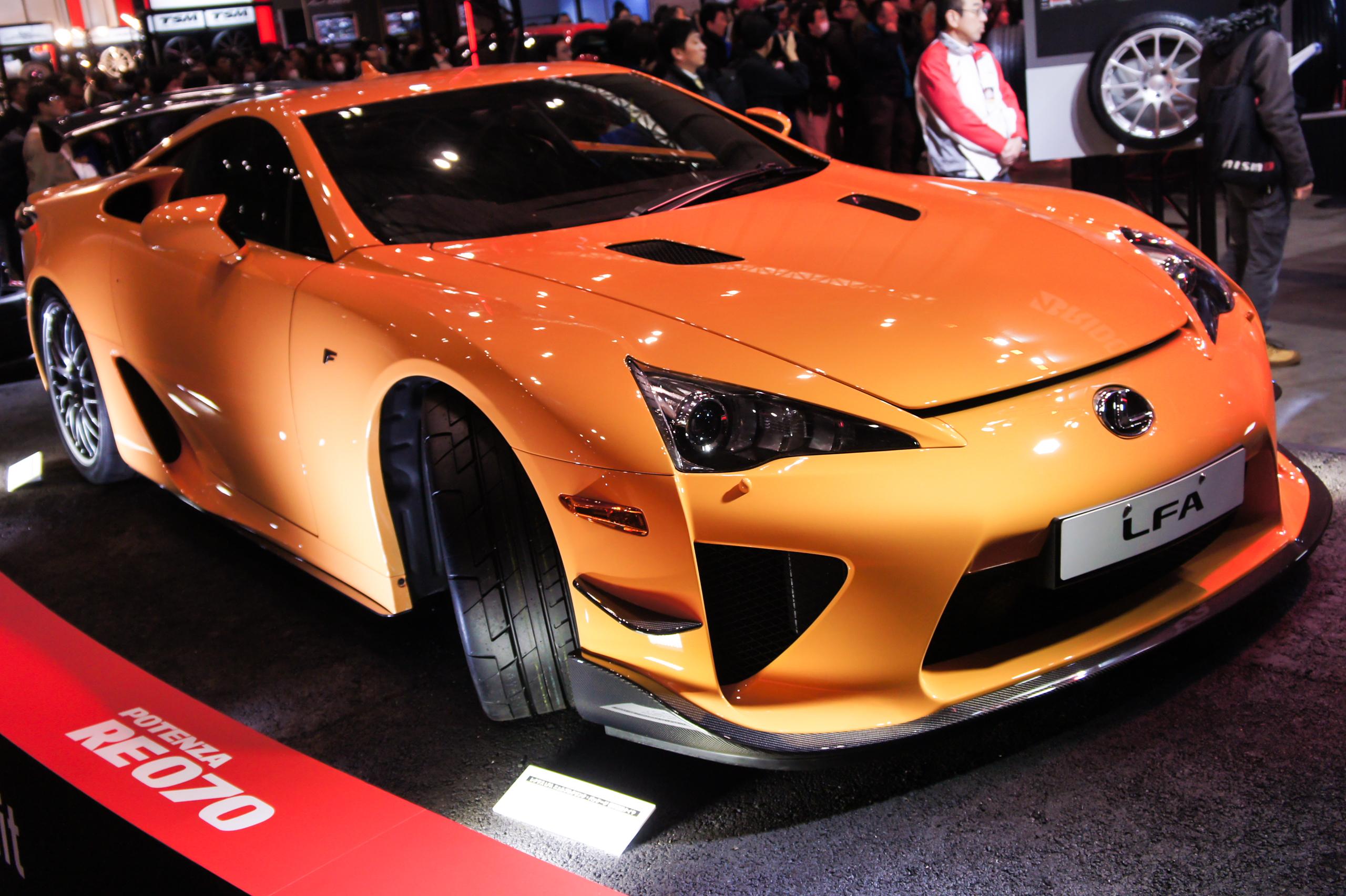 File lexus lfa nurburgring package front 2013 tokyo auto for 2013 tokyo auto salon