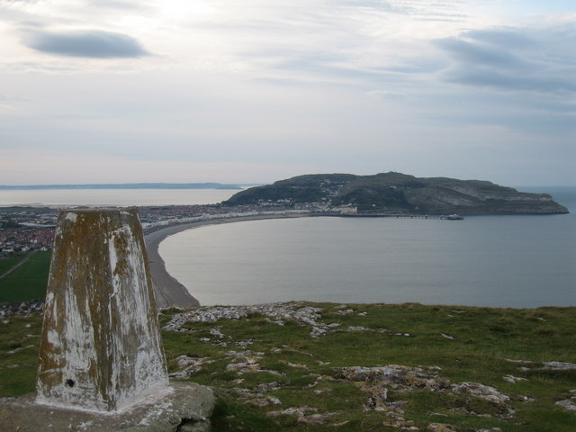 Little Orme's Head Trig Point - geograph.org.uk - 1584668