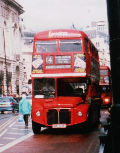 File London General Routemaster Bus Route 14 2001 Jpg