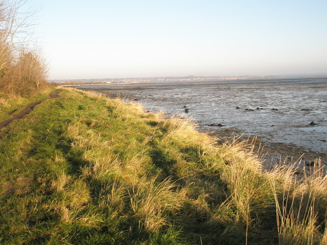 Looking out onto Langstone Harbour from the Solent Way - geograph.org.uk - 1071275