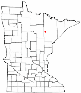 Adapted from Wikipedia's MN county maps by Catbar.