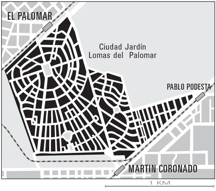 Ciudad jard n lomas del palomar wikipedia for Alquileres en ciudad jardin el palomar