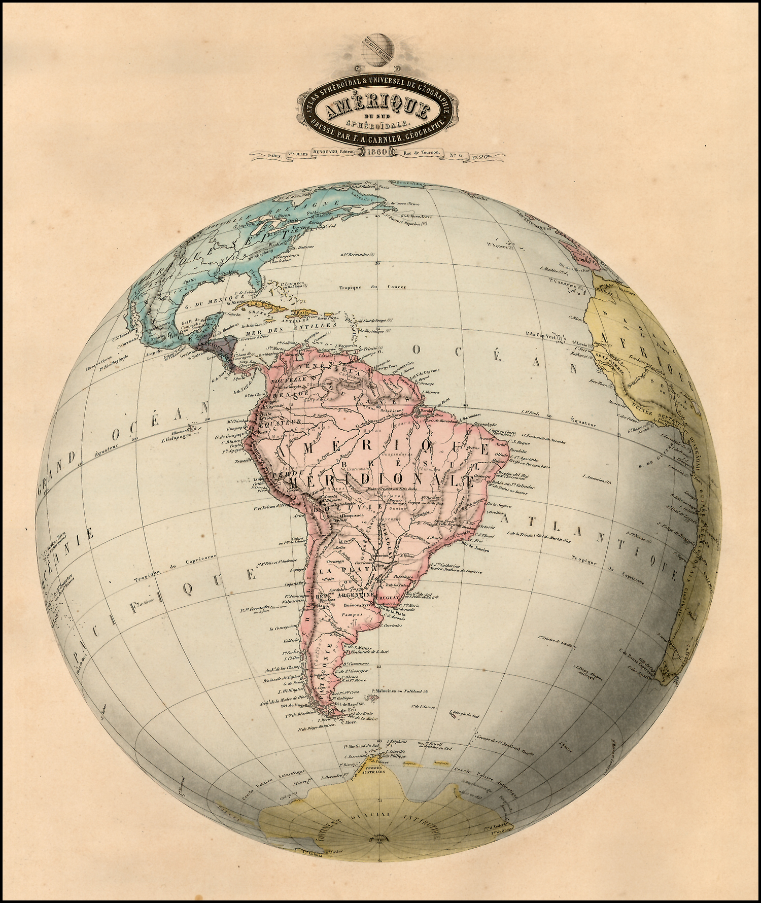 File:Mapa antiguo América del Sur (South America old map).jpg ...